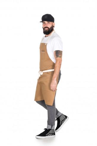 camel apron for chef, bartenders and design restaurants