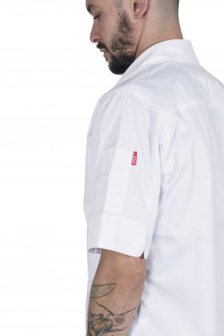 Veste de cuisine homme, moderne et stylée.