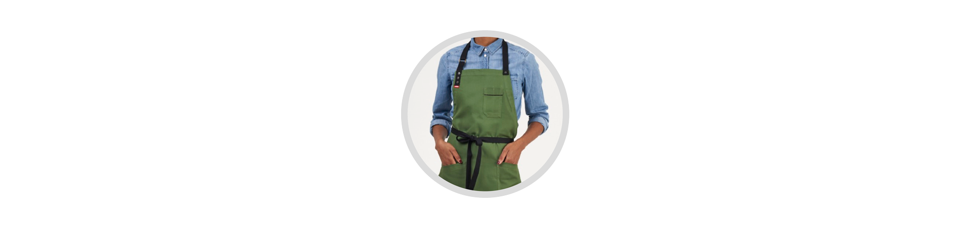 Modern and fashion apron for chef and restaurant